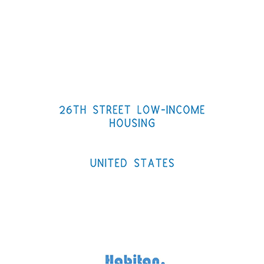 26th Street Low-Income Housing